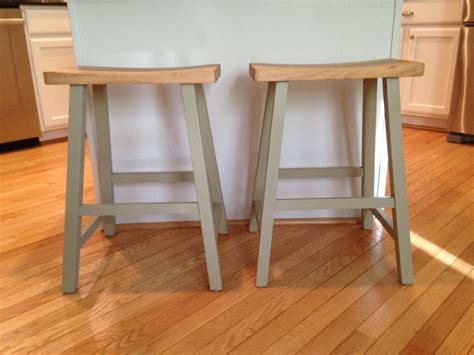 Painted Wooden Stools by Painted Barstools Teach Craft