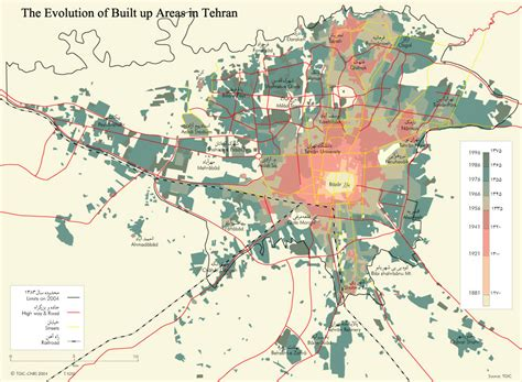 tehran on a world map tehran map 1392