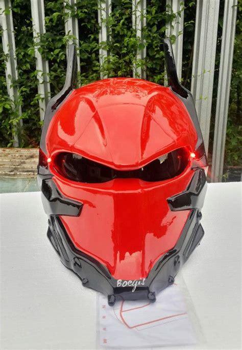 Helm Nhk Batman arkham motorcycle helmet custom dot approved