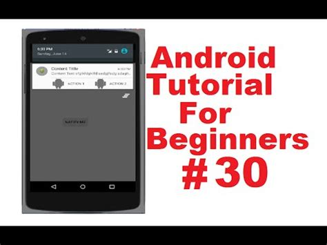 tutorial android menu android tutorial for beginners 30 action bar actionbar