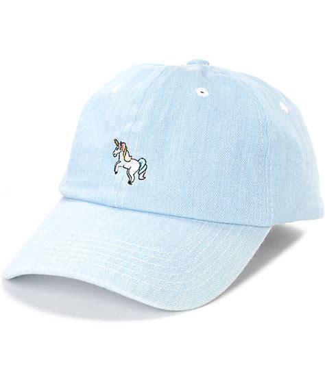 Denim Hat empyre solstice unicorn light denim hat