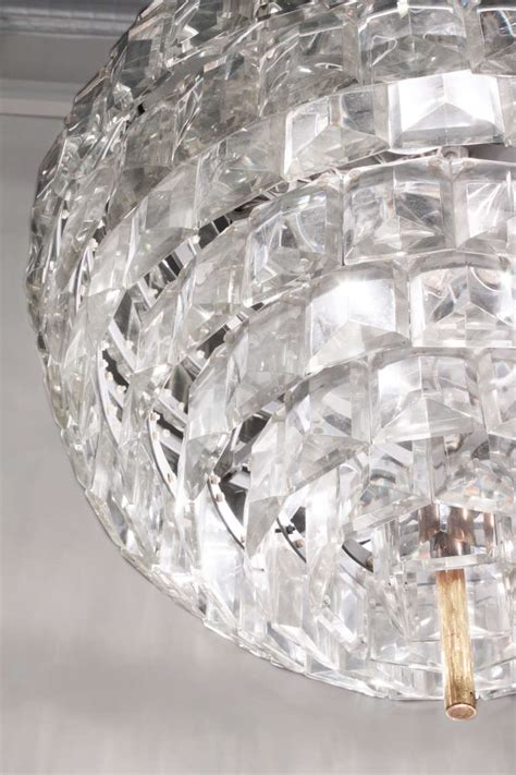 Spectacular Crystal Sphere Chandelier For Sale At 1stdibs Sphere Chandelier With Crystals