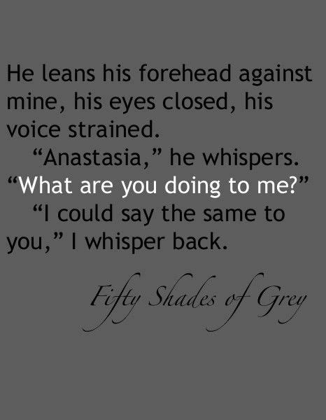 Fifty Shades of Grey - by @E_L_James. #FiftyShades