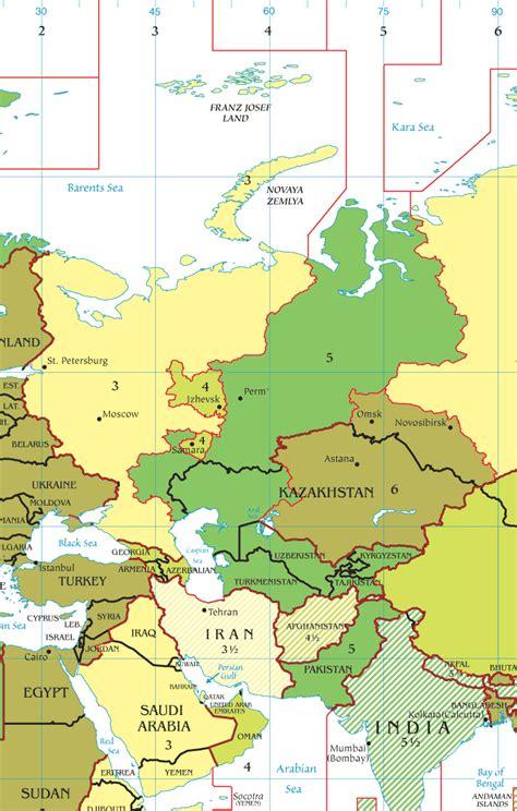 middle east map time qatar oriente medio mapa
