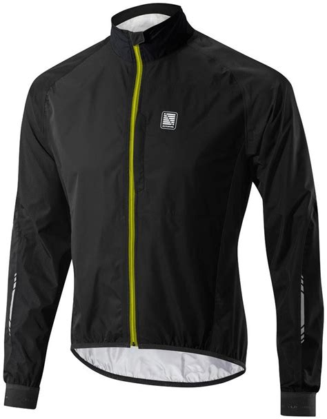 mens hi vis waterproof cycling jacket altura peloton mens waterproof cycling jacket black hi vis