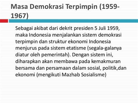 Sistem Sosial Indonesia Rp 40 000 orde lama orde baru dan reformasi