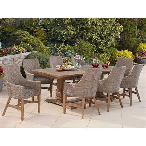 piece teak dining set outdoor furniture outdoor