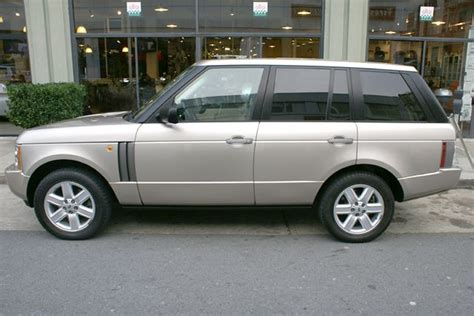 range rover of san francisco 2003 land rover range rover hse stock m081106 for sale