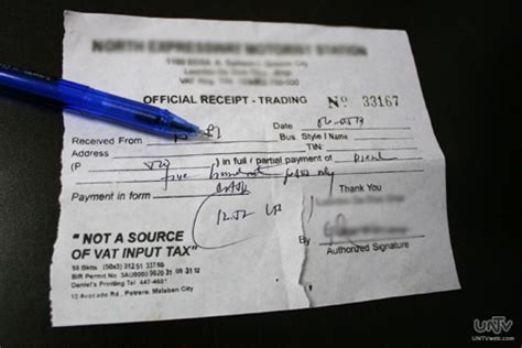 official invoice format bagong format ng official receipt at sales invoices