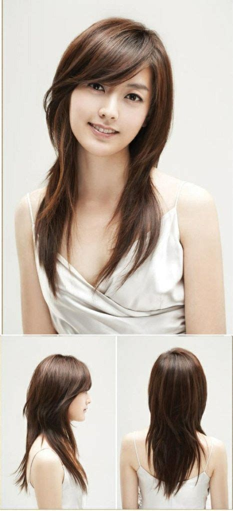 hair styles cut hair in layers and make curls or flicks best 25 long swoop bangs ideas on pinterest side swoop