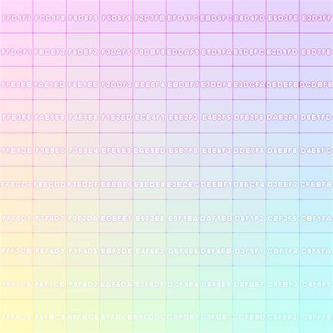 pastel color codes japan kawaii blippo kawaii pastel colors