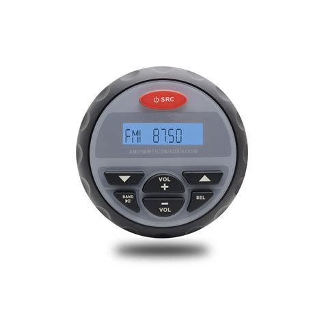 Speaker Bleutooth Kerang Radio Fm Mp3 aliexpress buy marine stereo motorcycle audio boat radio bluetooth usb mp3 sound system