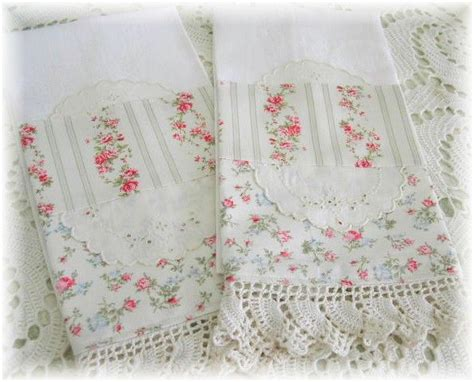simply shabby chic pillow cases 1000 images about crochet edging projects on