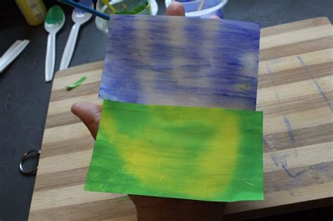 make your own thermocolor color change paint