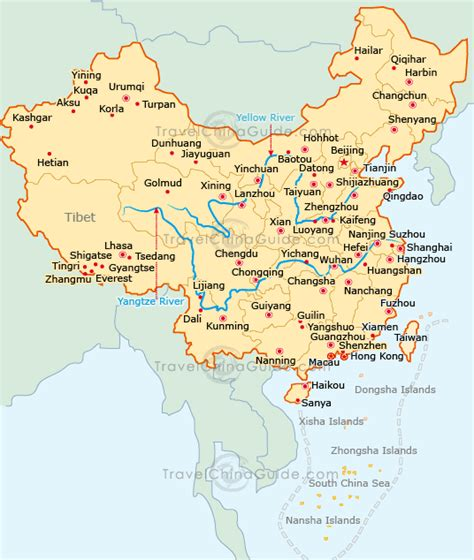 map china map of china country world map of china city physical province regional