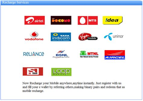 mobile recharge earning center mobile recharge