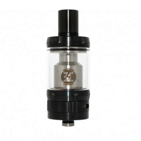 Summit Cap V2 Black 22mm Wide Bore 510 Drip Tip Goon Berkualitas authentic ehpro billow v2 nano rta black 3 2ml 22mm tank