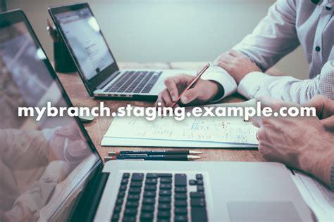 laravel envoy tutorial dynamic git branch subdomains with laravel envoyer and