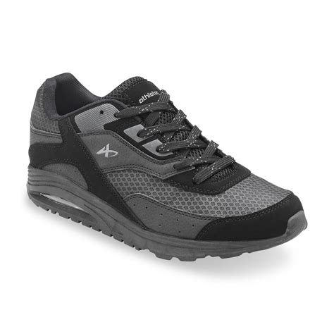 kmart mens athletic shoes athletech s athletic shoe bobby black