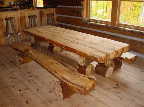 log cabin table ls 10 gorgeously rustic log tables you ll want for your cabin