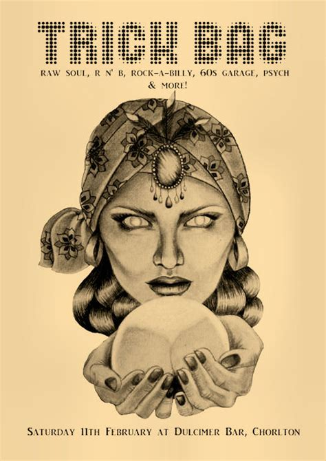 fortune teller poster artwork by eleanor savage