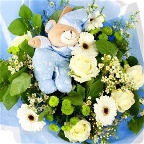 boy baby flower bouquet