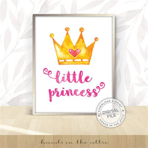 free printable princess wall art little princess wall art download free printables