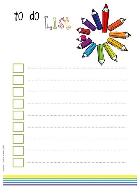 creative to do list template to do list template
