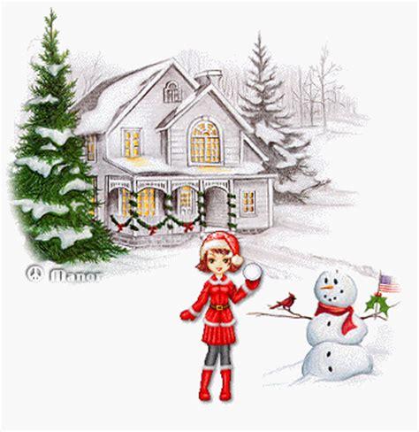imagenes de casas navideñas animadas gifs animados de casas nevadas navidad