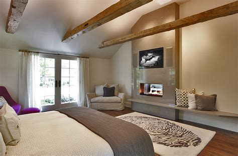 where to put tv in bedroom tv above fireplace design ideas