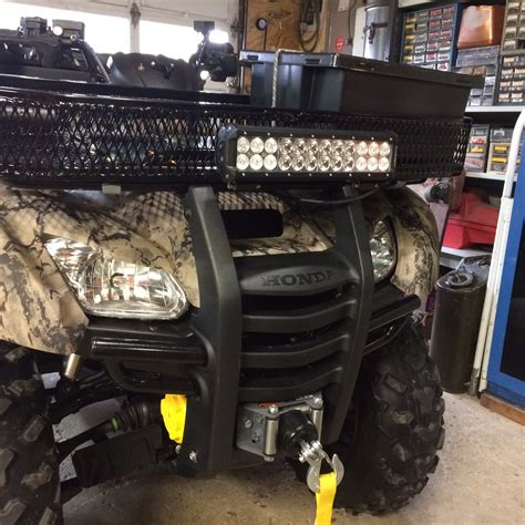 Led Atv Light Bar Cree Led Light Bar Page 2 Honda Atv Forum