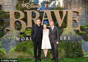 brave premiere: scotland pulls out all the stops at disney