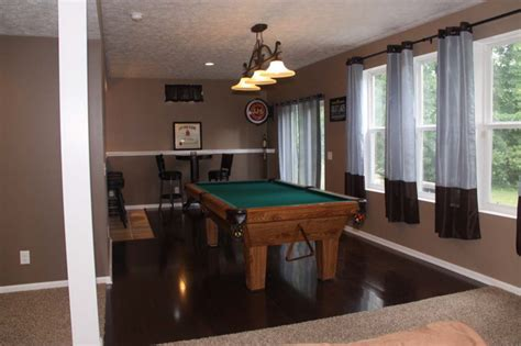 Finished Walkout Basement by Walk Out Basement Finishing Ideas Modern Basement