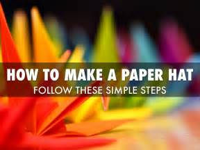 how to make a paper hat by essenburg