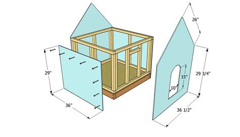 easy dog house plans free large dog house plans memes
