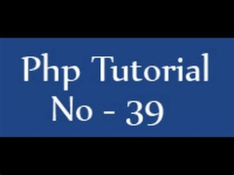 tutorial youtube php php tutorials for beginners 39 redirect page in php