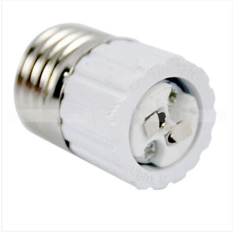 e27 standard to mr16 base led light l bulb adapter