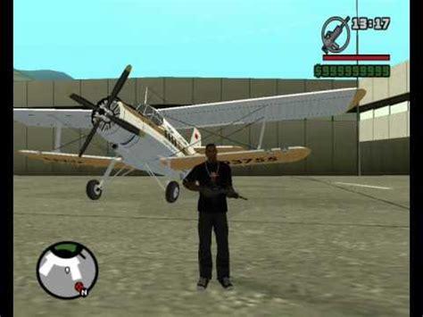 mods aviones diferentes para gta:sa (grand theft auto san
