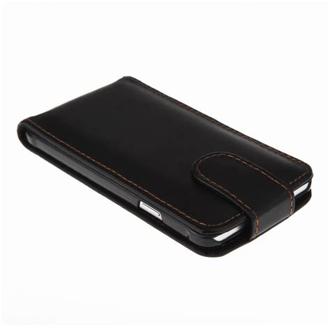 samsung galaxy alpha leather effect flip black