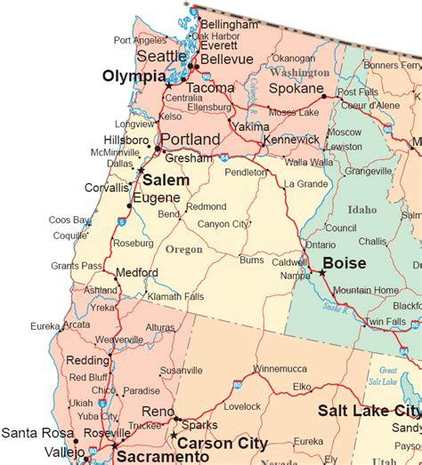 Northwestern States Road Map