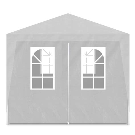 gazebo bianchi articoli per vidaxl gazebo da esterno tenda per feste 3 x