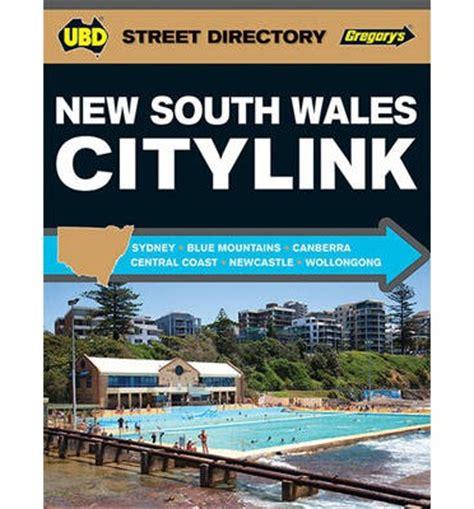 Citylink Nsw   nsw citylink street directory 2016 ubd gregorys