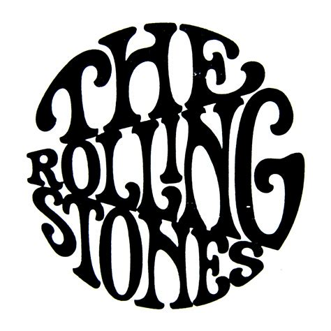 Between The Pages Black rolling stones logo drawing