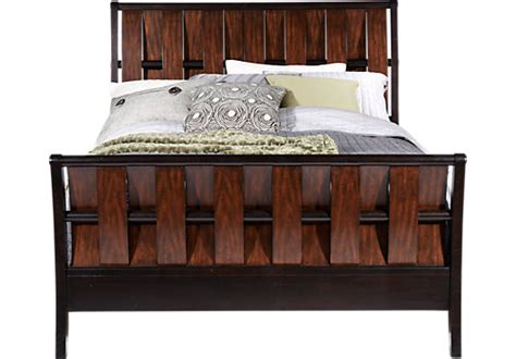 bedford heights cherry 5 pc queen sleigh bedroom transitional bedford heights contemporary bedroom furniture collection