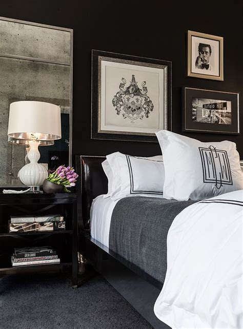 black bedroom walls 35 timeless black and white bedrooms that how to