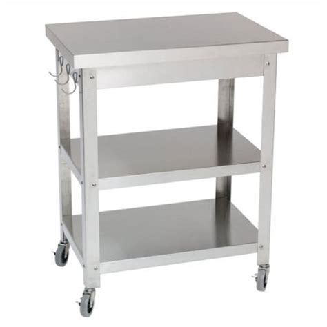 Stainless Steel Kitchen Carts by Danver Stainless Steel Kitchen Cart Reviews Wayfair