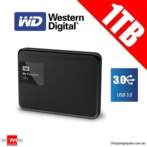 Hardisk Wd Ultra 1 western digital my passport ultra 1tb external usb 3 0 drive disk black wdbgpu0010bbk