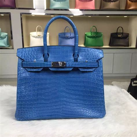Accessories De Mademoiselle The Inspired By Hermes Birkin Bag by Hermes Bag Blue Hermes Inspired Bag
