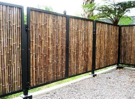 Pagar Kayu By Kenichi Craft contoh model pagar kayu bambu sederhana model desain