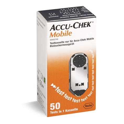 mobile cassette roche test cassette for accu chek mobile
